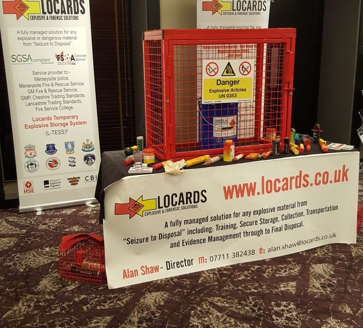 Locards exhibit at FSOA conference